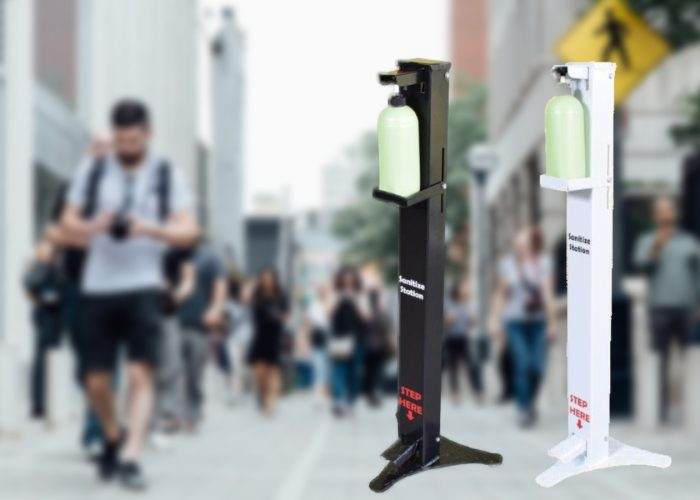 high traffic touchless dispenser